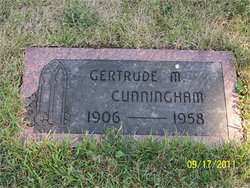 Gertrude Mary <i>Cleary</i> Cunningham