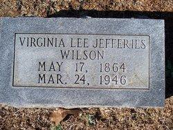 Virginia Lee <i>Jeffries</i> Wilson