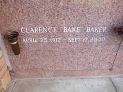Clarence Albert Baker