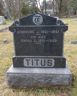 Ambrose J Titus