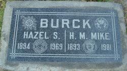 Hazel D <i>Spade</i> Burck