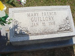 Mary Belle <i>French</i> Guillory