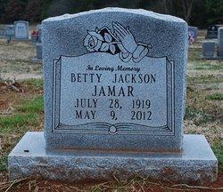 Betty <i>Jackson</i> Jamar