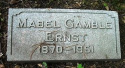 Mabel <i>Gamble</i> Ernst