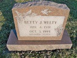 Betty J. Welty
