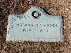 Barbara N <i>Higgins</i> Vaughn
