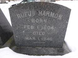Rufus Harmon