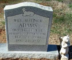 Will Matthew Adams
