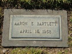 Aaron E Bartlett