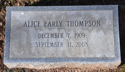 Alice Gertrude <i>Early</i> Thompson