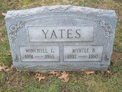 Myrtle Virginia <i>Bayha</i> Yates