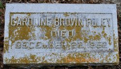 Caroline <i>Brown</i> Foley