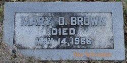 Mary Oesian Brown