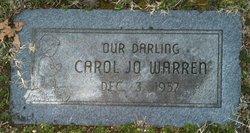 Carol Jo Warren