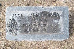 Annie Carr <i>Epperson</i> Boykin