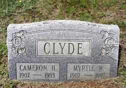 Myrtle Estella <i>Welliver</i> Clyde