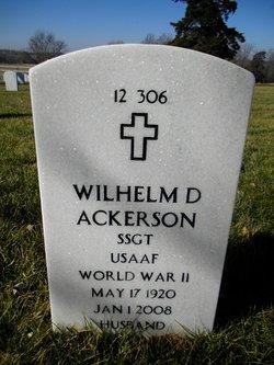 Wilhelm D Ackerson