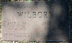 Jack Elwood Jackie Wilborn, Jr