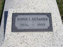 Bonnie Irene <i>Bane</i> Alexander