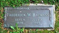 Frederick William Baumann