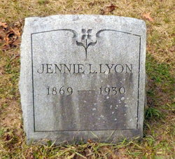 Jennie L. <i>Cobb</i> Lyon
