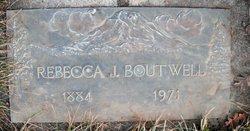 Rebecca Jeannie <i>Brown</i> Boutwell