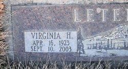 Virginia H Letellier