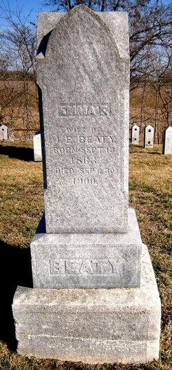 Emma F <i>Lampson</i> Beaty