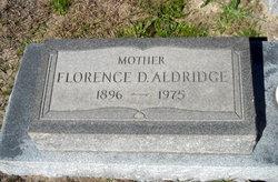 Florence <i>Daniels</i> Aldridge