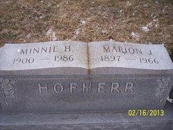 Minnie Hester <i>McKinley</i> Hofherr