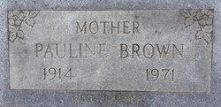 Pauline <i>Eutsey</i> Brown