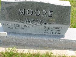 Pearl Mae <i>Schrunk</i> Moore