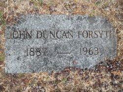 John Duncan Forsyth