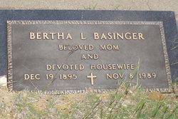 Bertha Lillian <i>Wolverton</i> Basinger