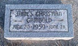 James Christian Gambold