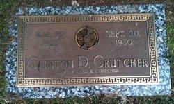 Clinton Delbert Crutcher