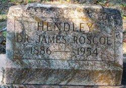 Dr James Roscoe Hendley
