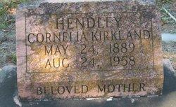 Cornelia <i>Kirkland</i> Hendley