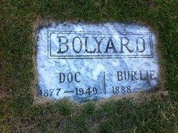 Doc Burlie Bolyard