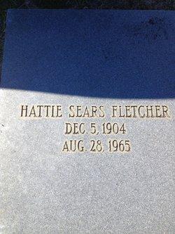 Hattie B <i>Sears</i> Fletcher