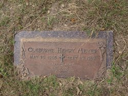 Cleburne Henry Meyer