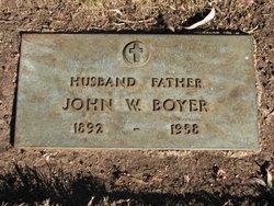John William Willie Boyer