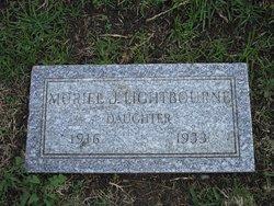 Muriel J Lightbourne