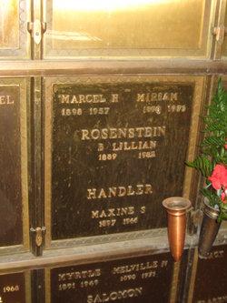 Maxine S Handler
