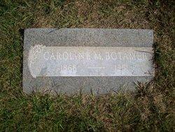 Caroline M Carrie <i>Schumaker</i> Botamer