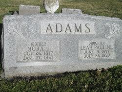 Nora J Adams