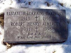 Elizabeth Lorraine Betty <i>Hartmann</i> Almeroth
