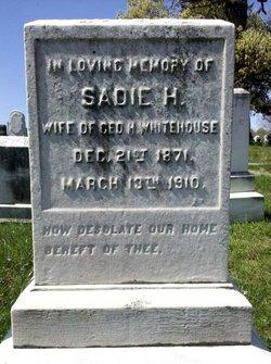 Sarah Eugenia Sadie <i>Hughes</i> Whitehouse