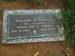 Willard Harrison Bill Barnes