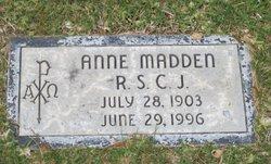 Anne Madden